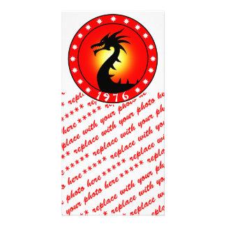 Year of The Dragon 1976 Custom Photo Card