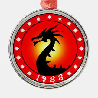 Year of The Dragon 1988 Christmas Ornament