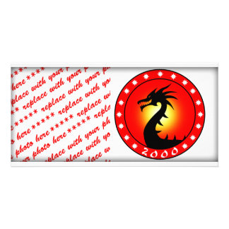 Year of The Dragon 2000 Photo Greeting Card