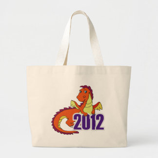 Year of the dragon 2012  chinese new year canvas bags
