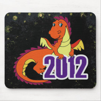 Year of the dragon 2012 chinese new year mousepad