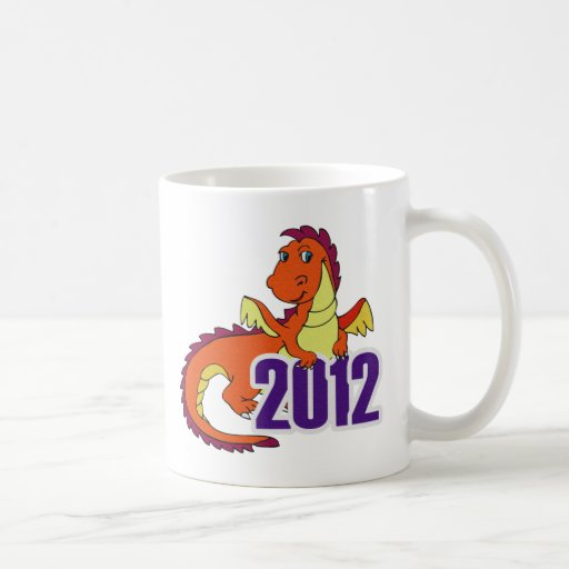 Year of the dragon 2012  chinese new year mug