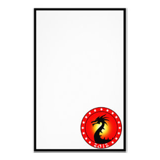 Year of the Dragon 2012 Customized Stationery