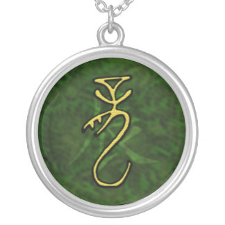 Year of the Dragon 2 Round Pendant Necklace