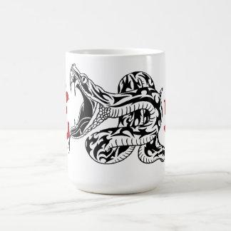 Year of the Dragon (Black) Basic White Mug