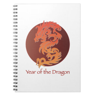 Year of the Dragon Journals Spiral Notebook