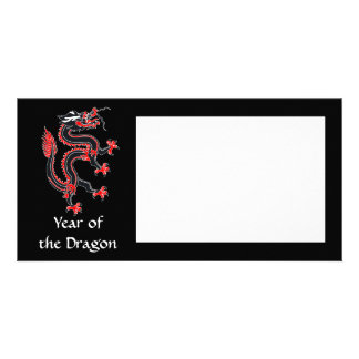 Year of the Dragon Photo Card Template