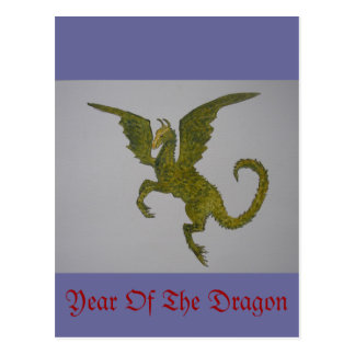 Year Of The Dragon Postcards