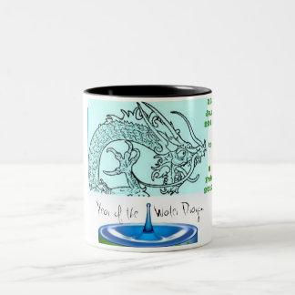 Year of the Dragon Two-Tone Coffee Mug