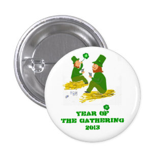 Year Of The Gathering 2013 Ireland Pinback Button
