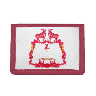 year of the goat wallet