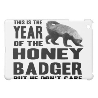 Year of the Honey Badger Cover For The iPad Mini