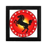 Year of the Horse 1978 Keepsake Box