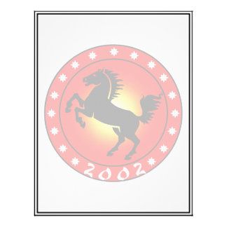 Year of the Horse 2002 Personalized Flyer