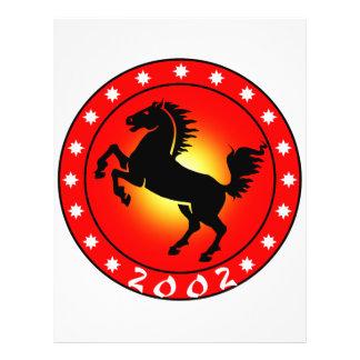 Year of the Horse 2002 Custom Flyer