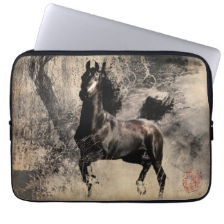 Year of the Horse 2014 - Chinese Painting Art Laptop Sleeve