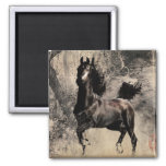 Year of the Horse 2014 - Chinese Painting Art Refrigerator Magnets