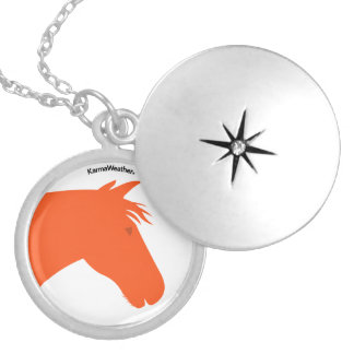 Year of the Horse Locket Necklace