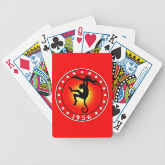 Year of the Monkey 1956 Bicycle Playing Cards
