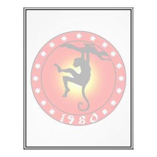 Year of the Monkey 1980 21.5 Cm X 28 Cm Flyer