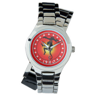 Year of the Monkey 1980 Watch