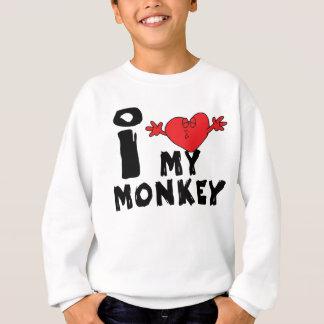 "Year of The Monkey ""I Love My Monkey"" Sweatshirt"