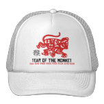 Year of The Monkey Paper Cut Cap