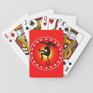 Year of The Monkey Playing Cards