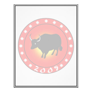 Year of the Ox 2009 Custom Flyer