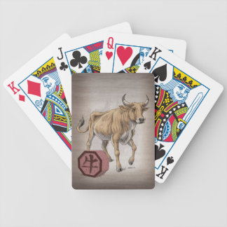 Year of the Ox Chinese Zodiac Art Card Deck