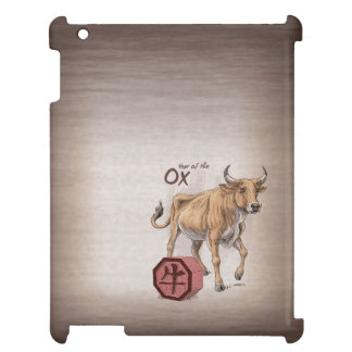 Year of the Ox Chinese Zodiac Art Cover For The iPad