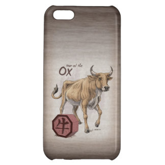 Year of the Ox Chinese Zodiac Art iPhone 5C Covers