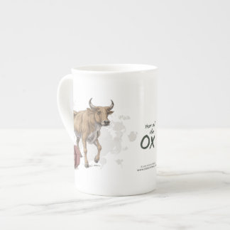 Year of the Ox Chinese Zodiac Art Tea Cup