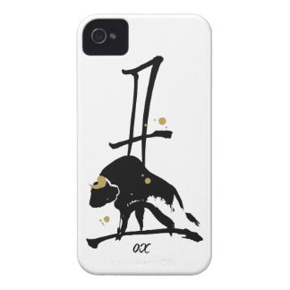 Year of the Ox - Chinese Zodiac iPhone 4 Cover