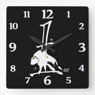 Year of the Ox - Chinese Zodiac Clock