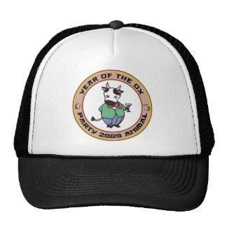 Year of The Ox Gift Trucker Hats
