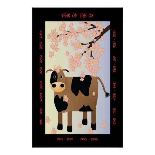 Year of the Ox Print