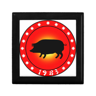 Year of the Pig 1983 Gift Box