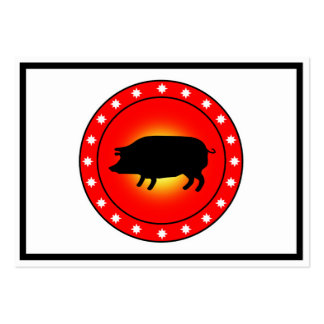 Year of the Pig Business Card Templates