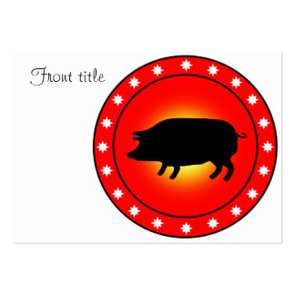 Year of the Pig Business Cards