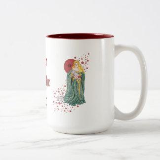 Year of the Pig Two-Tone Coffee Mug