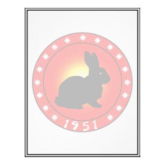 Year of the Rabbit 1951 Custom Flyer