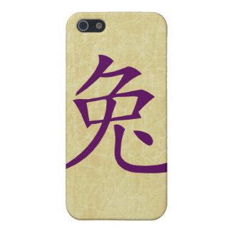 year of the rabbit chinese symbol iPhone 5/5S covers
