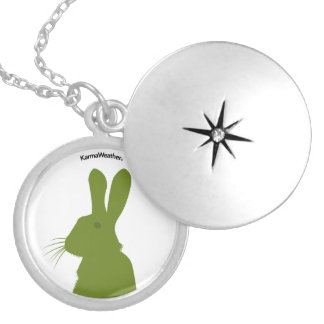 Year of the Rabbit Silver Plated Necklace