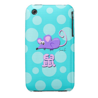 Year of the Rat iPhone 3 Case-Mate Case