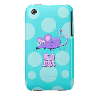 Year of the Rat iPhone 3 Case-Mate Cases