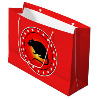 Year of the Rat Large Gift Bag