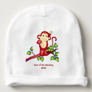 Year of the Red Monkey 2016 Baby Beanie