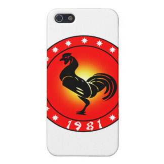 Year of the Rooster 1981 Case For iPhone 5