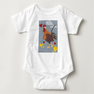 Year of the Rooster 2017 Baby Outfit Baby Bodysuit